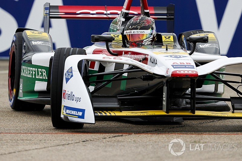 Berlin ePrix: Abt on pole but under investigation