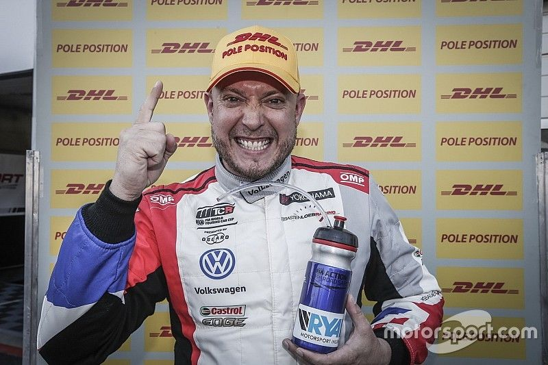 Portugal WTCR: Huff grabs pole in red-flagged qualifying