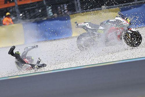 Crutchlow ontsnapt aan ernstige blessure bij crash in Le Mans