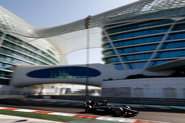 FIA F2 Maini snelste op tweede F2-testdag Abu Dhabi