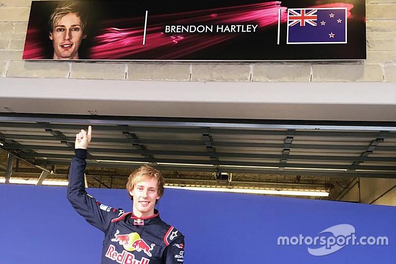 Хартли в комбинезоне Toro Rosso: первое фото