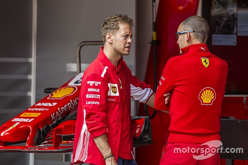 Vettel kiakadása Ricciardo manővere miatt