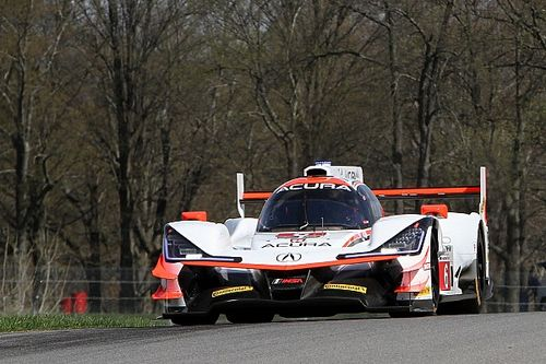 Mid-Ohio IMSA: Acuras dominate third practice