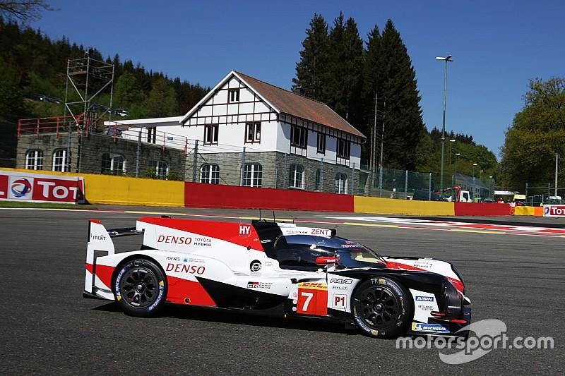 Spa, Qualifiche: la pole Toyota è di Kobayashi. Brutto incidente per Fittipaldi
