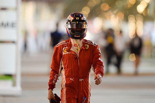 """Abandon de Räikkönen : """"Mon travail est de partir au feu vert"""""""