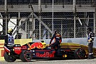 Verstappen se accidentó por una alza de potencia