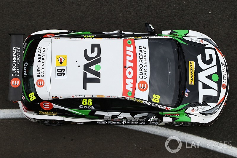 Thruxton BTCC: Cook vaults from ninth to Race 2 win