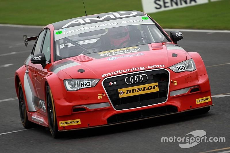 Tordoff makes BTCC test comeback in AmD Tuning Audi