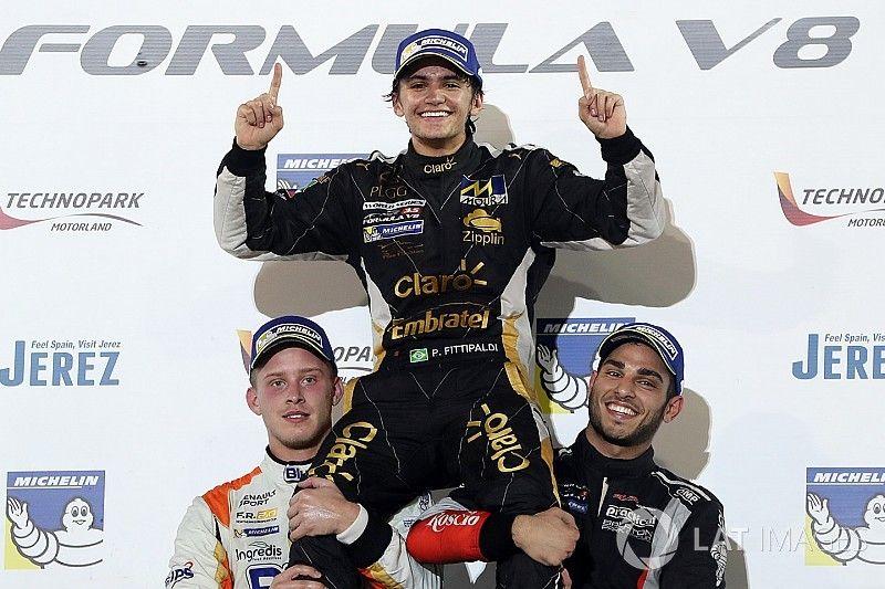Fittipaldi se consagró campeón en la Fórmula V8 3.5
