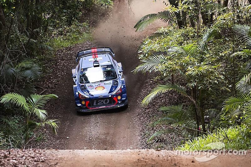 Avustralya WRC: Neuville hata yapmadı, son güne lider girdi!