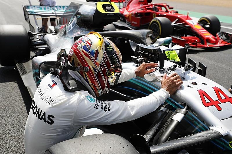 Hamilton: életem egyik legjobb köre volt a pole Silverstone-ban