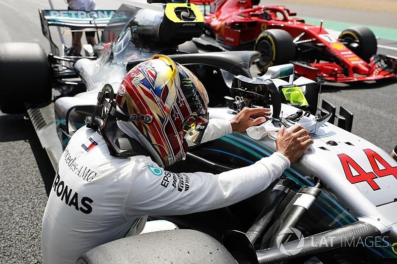 Hamilton au bout de lui-même, mais Ferrari menace