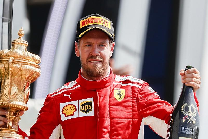Látványos képgaléria Vettel győzelméről a Brit Nagydíjon