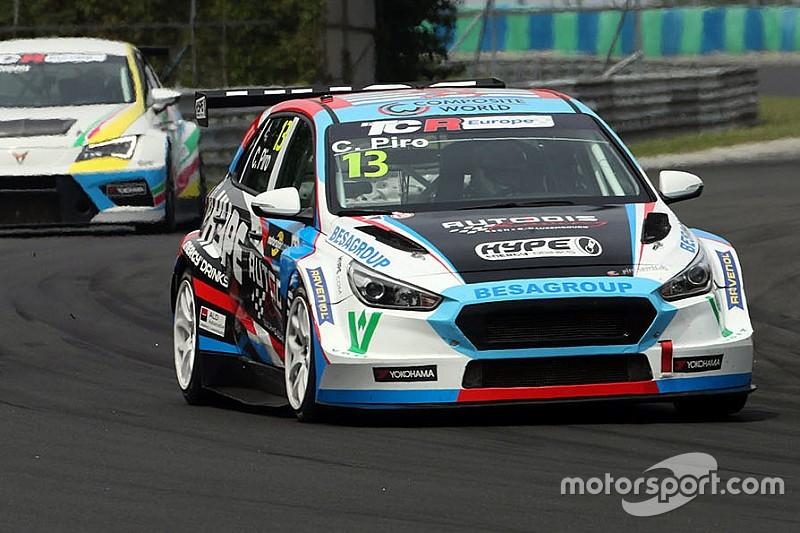 Peter Terting al posto di Piro sulla Hyundai di Autodis Racing