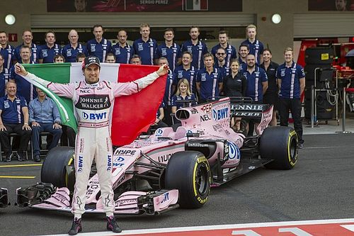 Pérez aspira a ganarle a los Renault en México