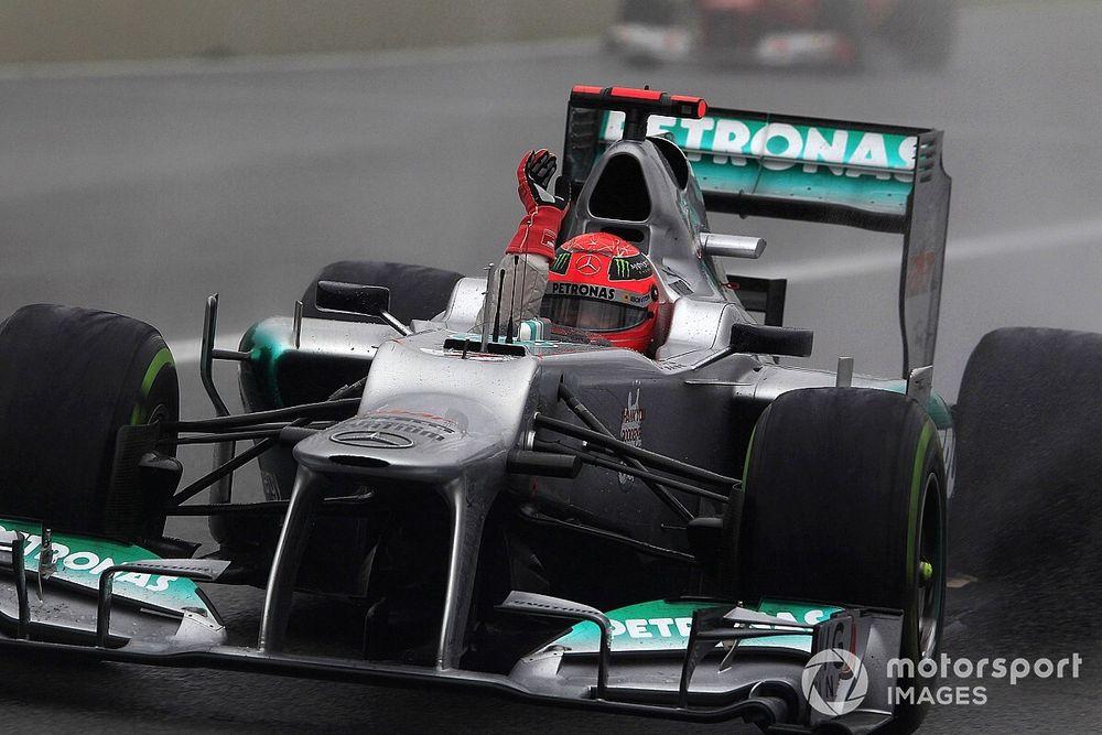 """Schumacher, """"père fondateur"""" du succès de Mercedes pour Wolff"""