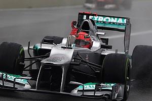 Mit keresett egy F1-es Honda Mercedes-köntösben? Rejtély!