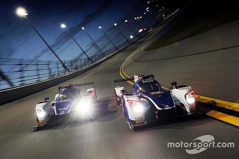Alonso se estrenó en la noche de Daytona y Nasr cerró el segundo día liderando