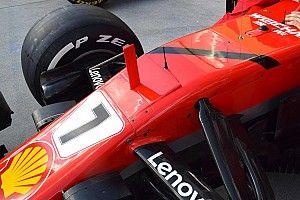 GALERÍA: Scuderia Ferrari muestra su luto en el pit lane de Hungría