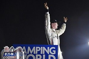 Justin Haley takes dramatic maiden Truck win at Gateway