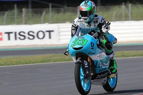 Moto3 Catalunya: Bastianini podium tertinggi, Martin terjatuh