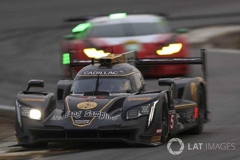 Rolex 24, Hour 16: AXR Cadillacs on top, Penske Acura damaged