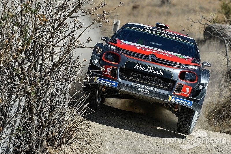 Mexico WRC: Loeb steals lead from Sordo