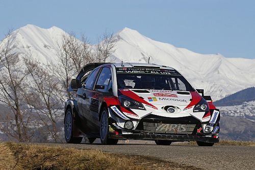 Monte-Carlo, PS3: Tanak al primo miglior tempo di stage con Toyota