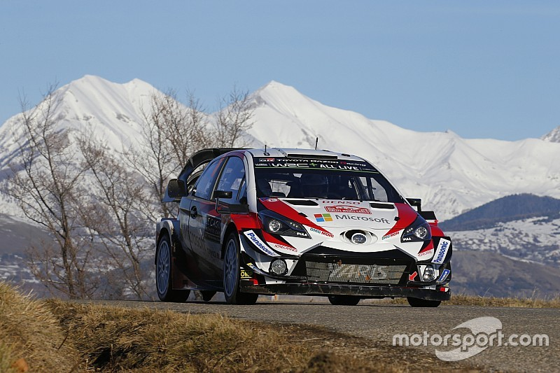 Monte Carlo WRC: Tanak closes in as Ogier slips up
