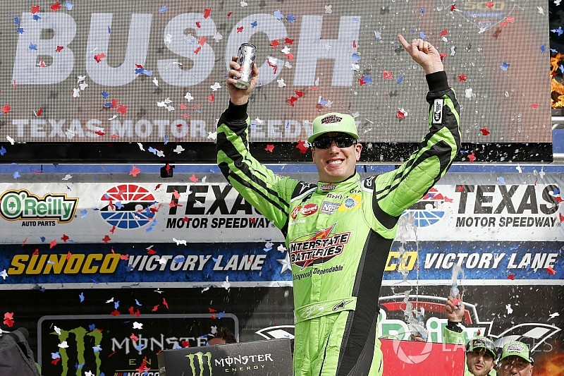 Kyle Busch relieved to see this season's hard work rewarded