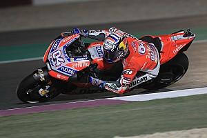 MotoGP Practice report Qatar MotoGP: Dovizioso beats Petrucci by 0.006s in FP2