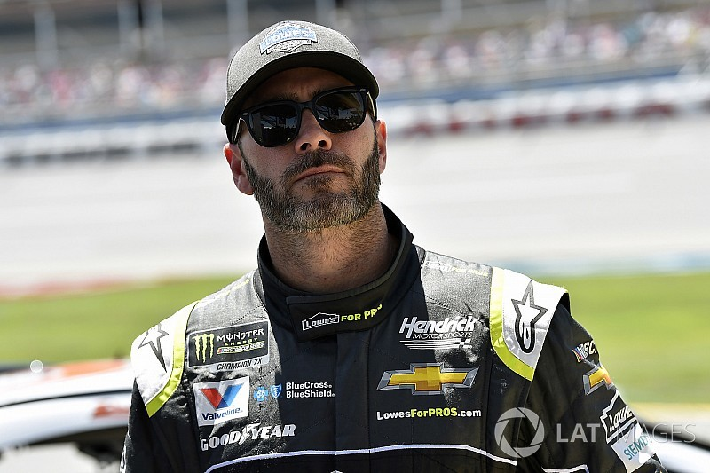 """Jimmie Johnson: """"We're a victim of our own success"""""""