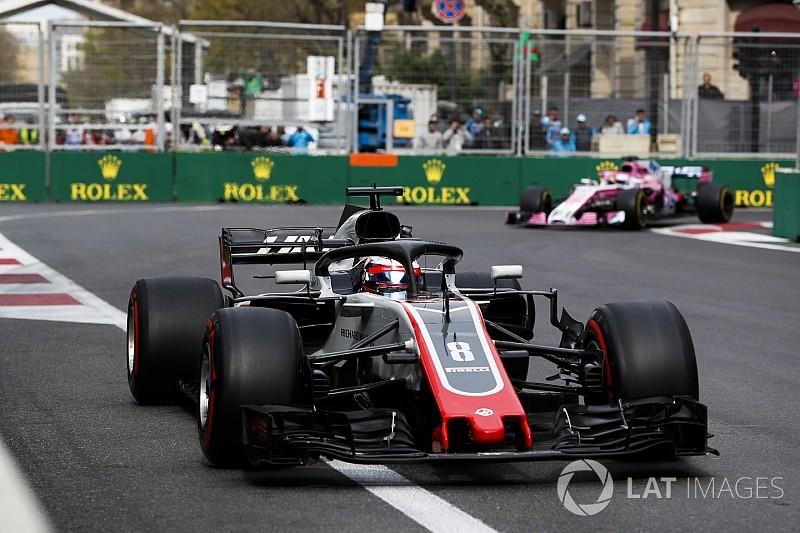 Grosjean: Haas gelişim mücadelesinde geride kalmamalı