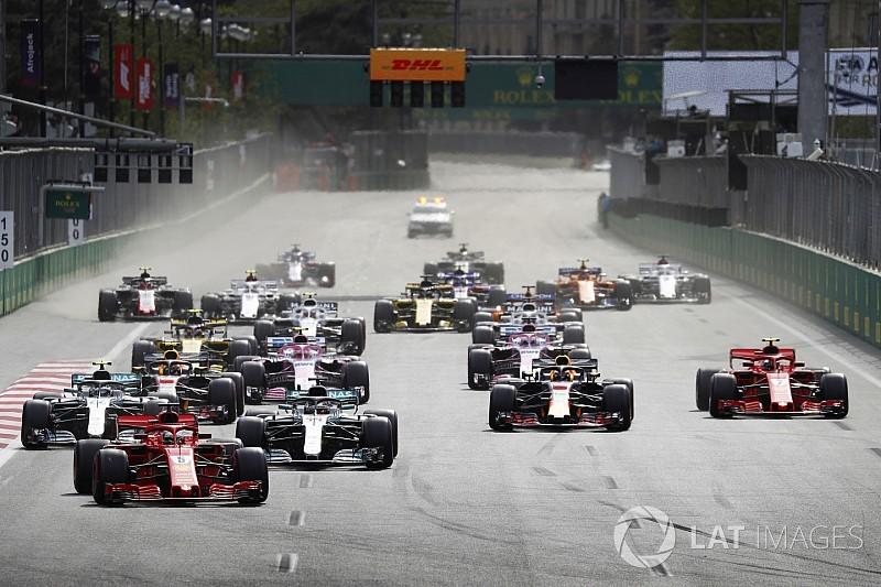 Formel 1 Baku 2018: Das Rennergebnis in Bildern