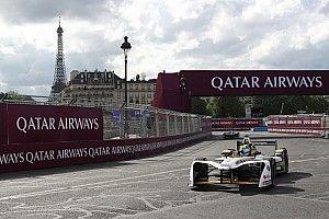 FE Parijs: Di Grassi snelste in VT2, opnieuw crash Piquet Jr.