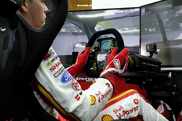Supercars Breaking news Penske adds simulator to Supercars programme
