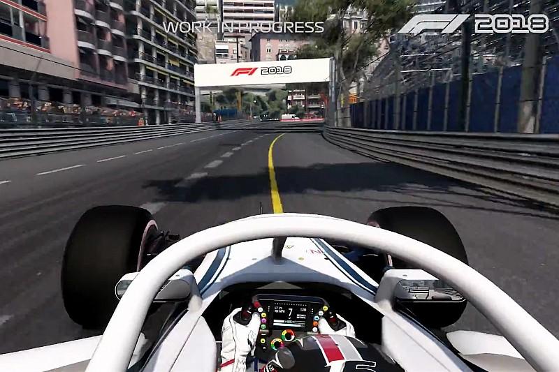 Leclerc guida a Monaco nel primo video gameplay di F1 2018