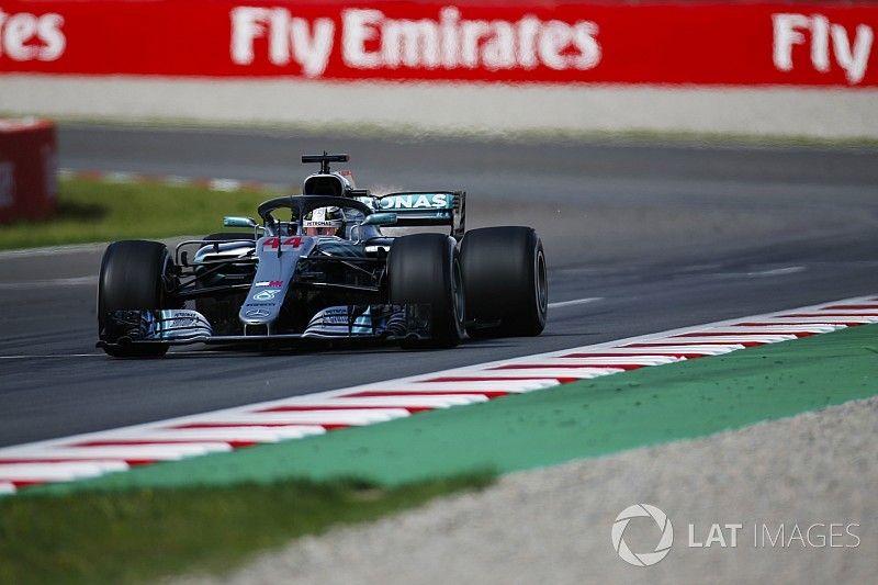 Fotogallery: dominio Mercedes nel GP di Spagna di F1