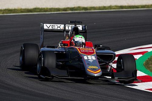 GP3 Barcelona: Pulcini doorbreekt polereeks van ART