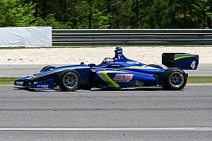 Serralles tops Indy Lights test at Mid-Ohio