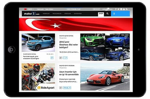 Through acquisition Motor1.com launches Motor1.com - TURKEY