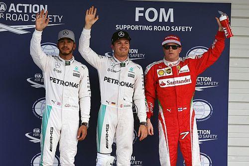 Japanese GP: Rosberg beats Hamilton to pole by 0.013s