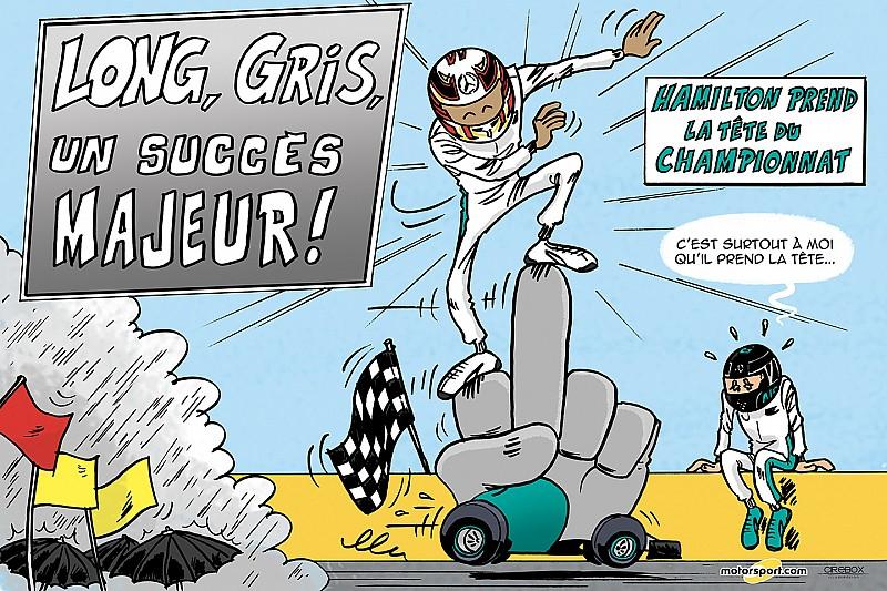 Le Grand Prix de Hongrie vu par Cirebox!