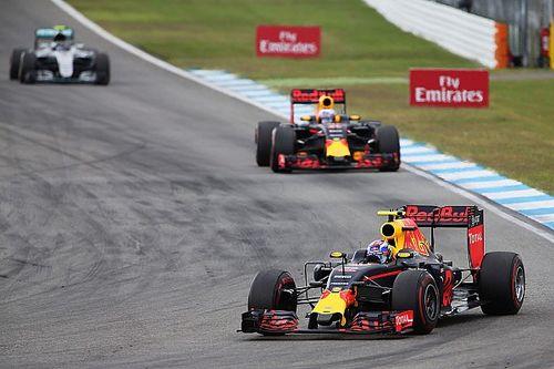 Verstappen says penalised Rosberg didn't turn