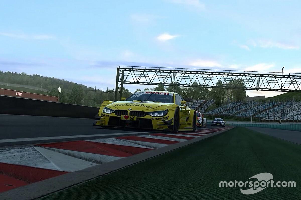 Nederlands succes in virtuele DTM-races op de Norisring