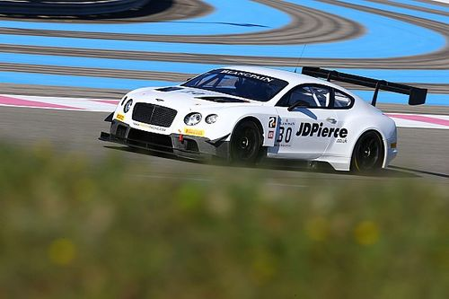 Top Gear host to race for Bentley in Blancpain Endurance