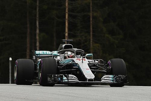 Austrian GP: Hamilton leads Mercedes 1-2 in FP1