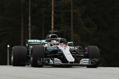 Formel 1 Österreich 2018: Hamilton mit Update zu erster Bestzeit