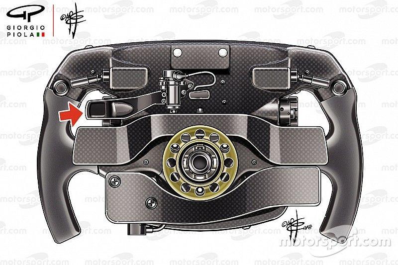 Mysterie rond geheime derde flipper op stuur Vettel
