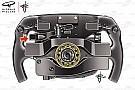 La paleta misteriosa en el volante de Vettel